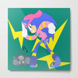 Sonic's Favorite Clothes Metal Print