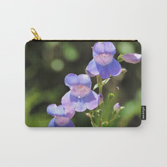 California Native Penstemon Carry-All Pouch