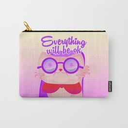 everything will be ok Carry-All Pouch