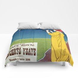 Concerts Ysaye 1896 Henri Meunier Comforters