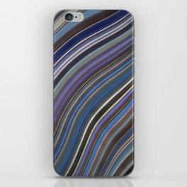 Mild Wavy Lines IV iPhone Skin
