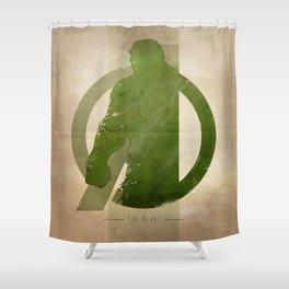 Avengers Assembled: The Beast Shower Curtain