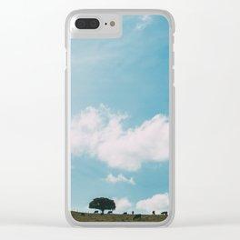 escape landscape Clear iPhone Case