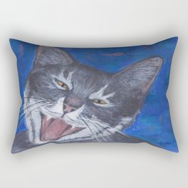Happy Cat - Gracie Rectangular Pillow