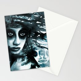 Vanishing siames Stationery Cards