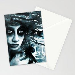 Vanishing siames Stationery Cards
