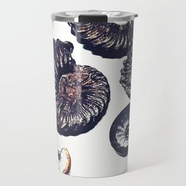 Ammonite illustrated Travel Mug