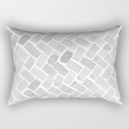 grey pavement Rectangular Pillow