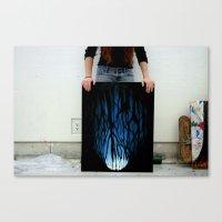 feet Canvas Prints featuring Feet by kim karr