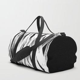 White brush Duffle Bag