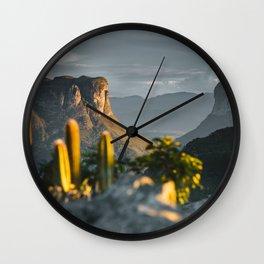 Morro do Pai Inácio Wall Clock