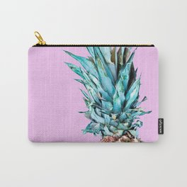 Pineapple On A Pink Background #decor #society6 #homedecor Carry-All Pouch