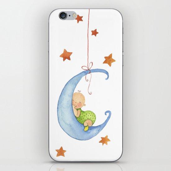 Baby moon iPhone & iPod Skin