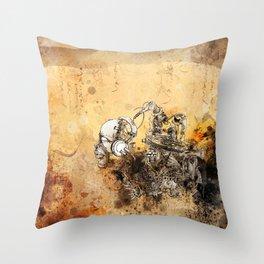 Remix soul Throw Pillow