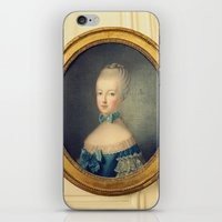 marie antoinette iPhone & iPod Skins featuring Marie Antoinette by happeemonkee