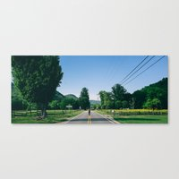 north carolina Canvas Prints featuring North Carolina by Thomas Graglia