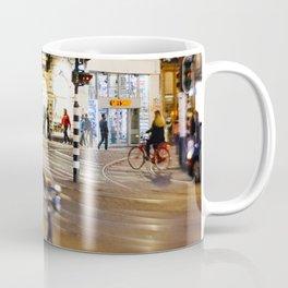 Night ride in Amsterdam Coffee Mug