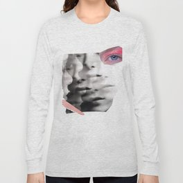 collage portrait Long Sleeve T-shirt