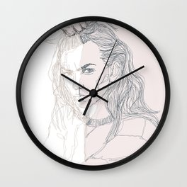 Paint me out to be Wall Clock