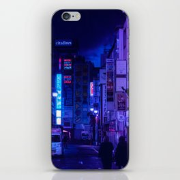 Tokyo Nights / Red Light District / Liam Wong iPhone Skin