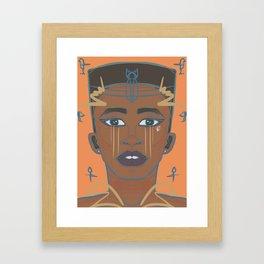 E. Gyptian Framed Art Print