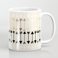 arrows Mugs featuring Arrows by Tangerine-Tane