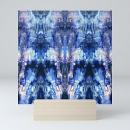 Blue Lagoon Tie-Dye Mini Art Print