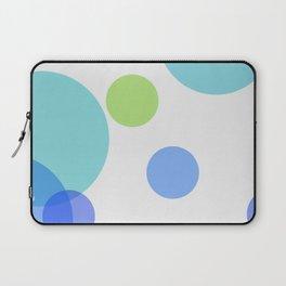 Blue Circles Laptop Sleeve