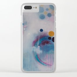 Longing for Stillness Clear iPhone Case