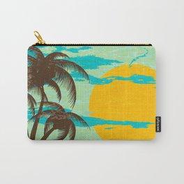 Tropical Sunshine Beach Carry-All Pouch