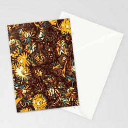 Mustard Rose Stationery Cards