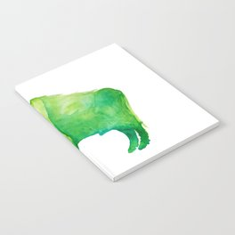 Green Bison Notebook
