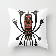INKIMAN - Les danses de Mars Throw Pillow