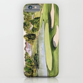 The Congressional Golf Course 10th Hole iPhone Case