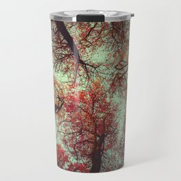 scarlet tree tops Travel Mug