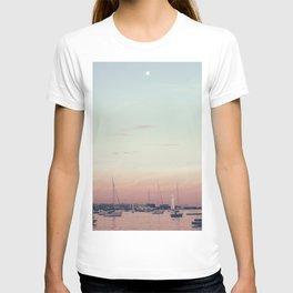 Sailing on the Boston Harbor T-shirt