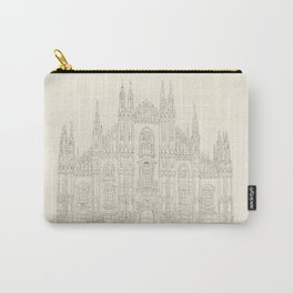 Cathedral of Milan Carry-All Pouch