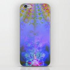 Fractal Burst III iPhone & iPod Skin