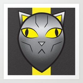 CatBot Art Print