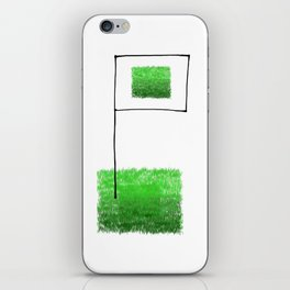 Conquer the fields! iPhone Skin