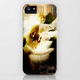 Naranjo en flor iPhone Case