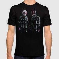 The Robots Black MEDIUM Mens Fitted Tee