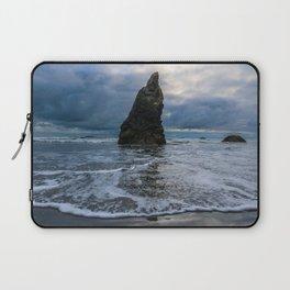 Ruby Beach Spire Laptop Sleeve