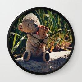 Just One Cornetto Wall Clock