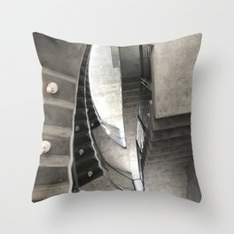 Jet Propulsion Stairwell Throw Pillow