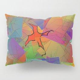 2506 Little cubistic phoenix ... Pillow Sham