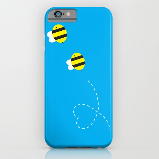 Bee in Love iPhone & iPod Case