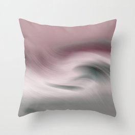Surreal Waves 2 Throw Pillow