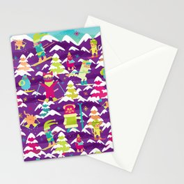 Fresh Meowder Stationery Cards