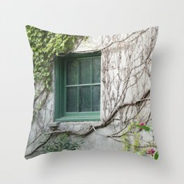 Botanical Embrace Throw Pillow
